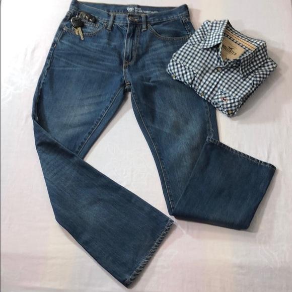 GAP Other - 🏆GAP 1969 Boot Cut Dark Wash Jeans 5-Pocket 29/30